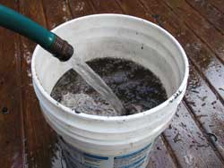 compost tea bucket